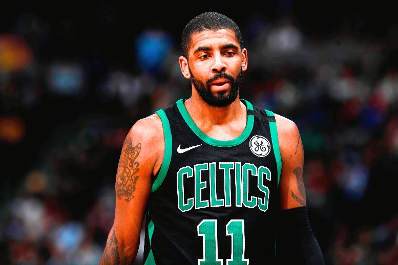 Frustrated Kyrie